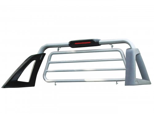 Aeroklas stylish roll bar with protective grille guard